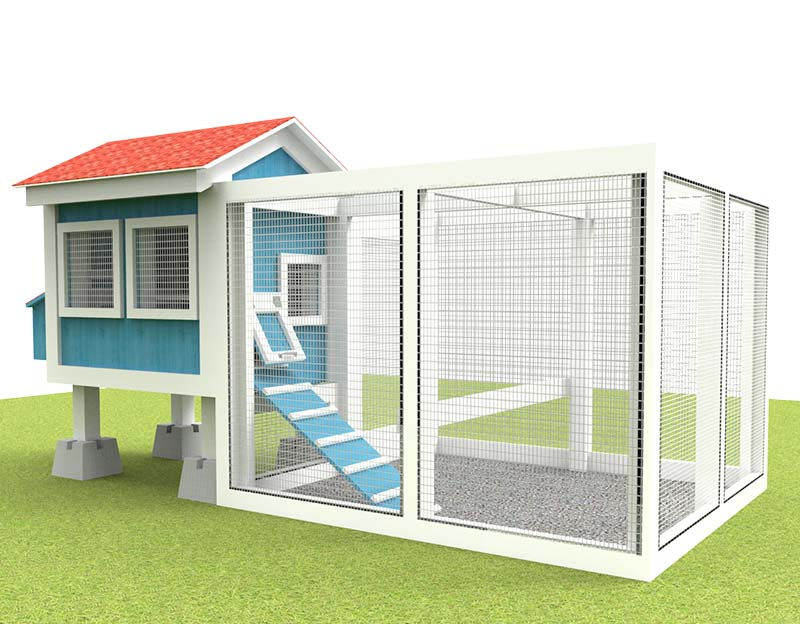 A Smaller Chicken Coop If You Want To Start With Even Smaller Number Of  Chickens. The Run Zone On This Plan Is Separated With The Indoor Coop Area  So Itu0027s ...