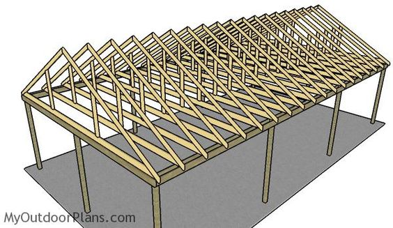20 Stylish Diy Carport Plans That Will Protect Your Car From The Elements