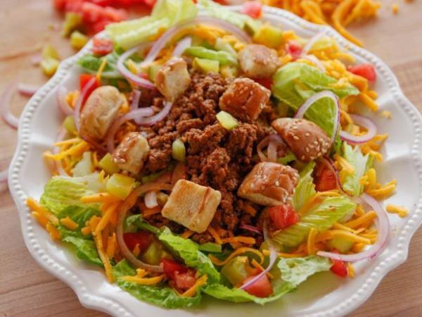 Cheesburger salad
