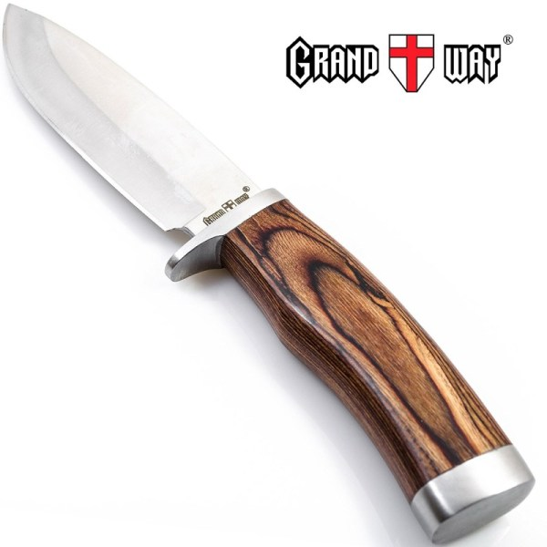 Grand Way 148109 4-inch Fixed Blade Hunting Knife
