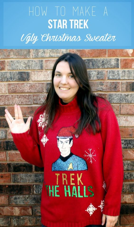 51 Ugly Christmas Sweater Ideas So You Can Be Gaudy And