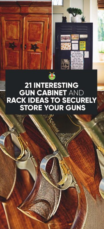gun cabinet and rack plans