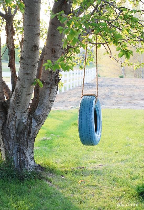 12 Fun Tire Swing Ideas to Make Your Backyard Better Than ...