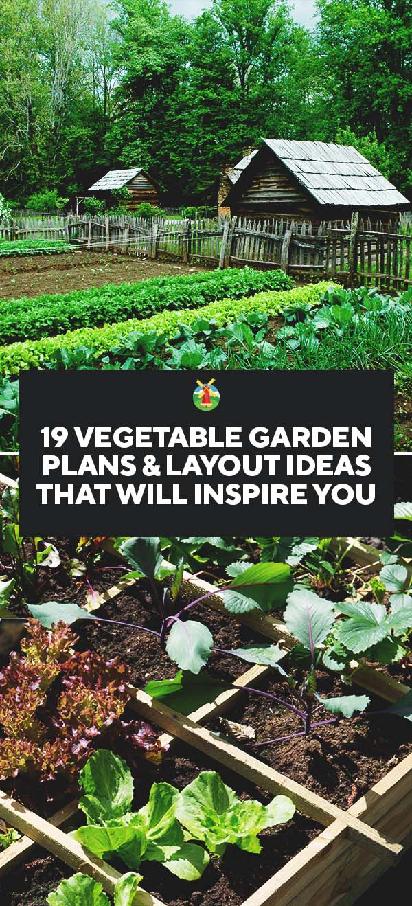 Simple Vegetable Garden Plans