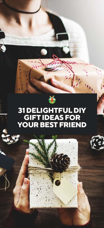 31 delightful diy gift ideas for your best friend diy friend gift ideas negle Choice Image