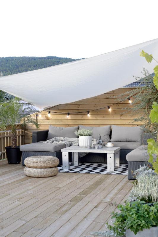 Iluminación en terraza o jardín