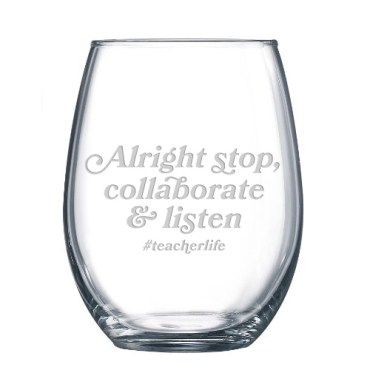 teacherlife wine glass