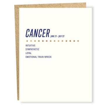 Cancer Birthday Cards