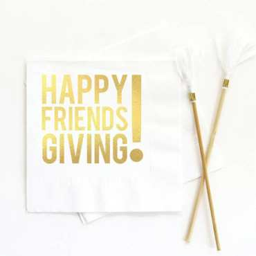 Friendsgiving Napkins