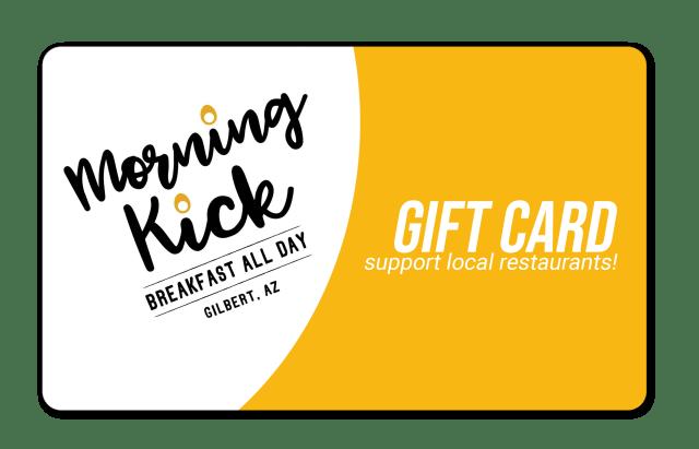 Morning Kick Gift Cards