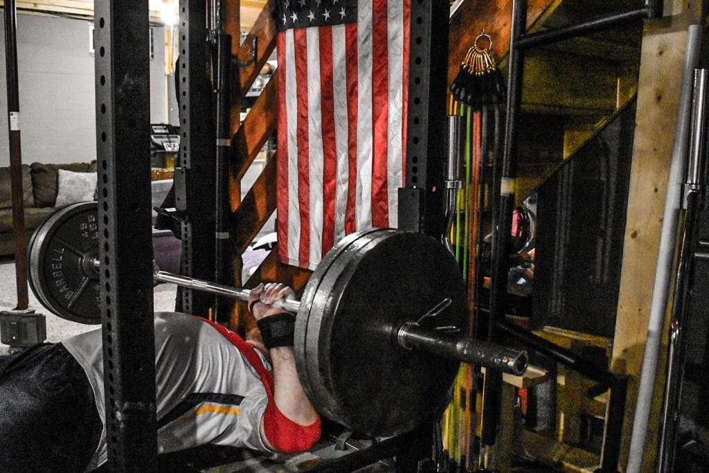 XL SUPER BENCH PRESS BAND GYM TITAN WEIGHTS LIFTING POWER SLING SHOT