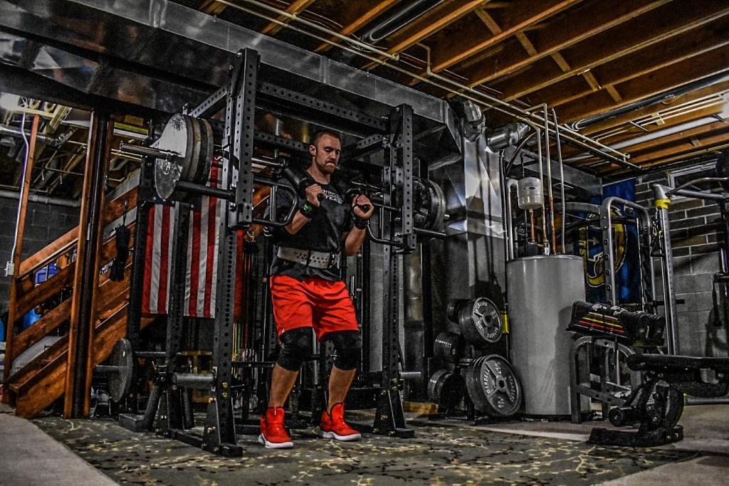 Titan Fitness Safety Squat Bar V2 Review Morning Lifter