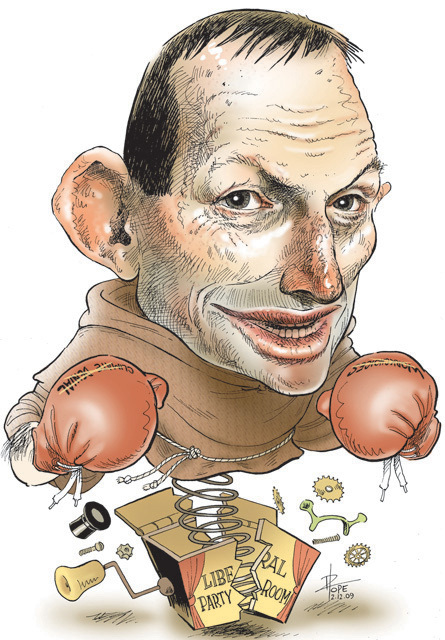 Image result for Cartoon Tony Abbott