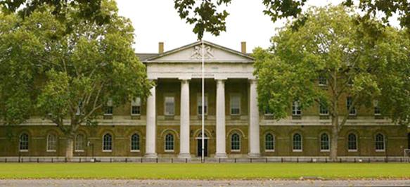 Façade de la Saatchi Gallery, Duke of York's HQ, Londres