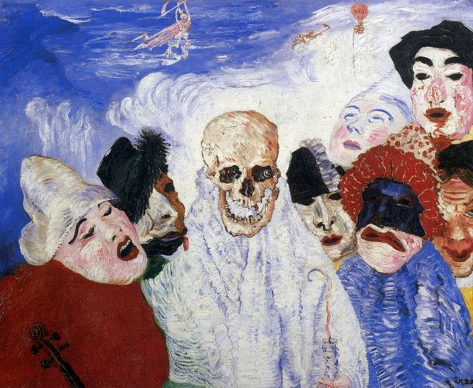 James Ensor, La Mort et les masques, 1897