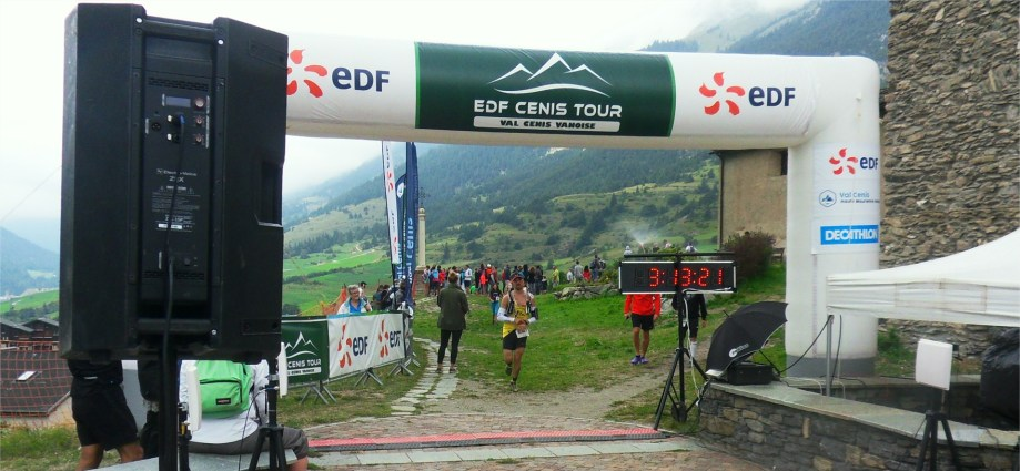 TRAIL EDF CENIS TOUR MORNING RUNNER