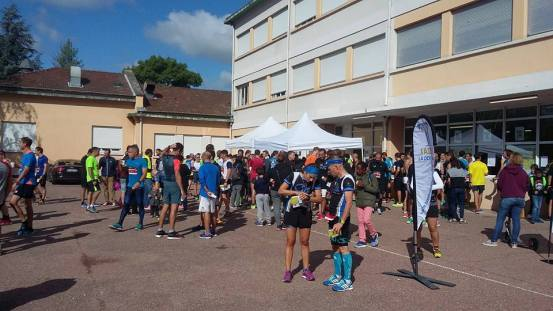 10km de l'horloge tassin morning runner