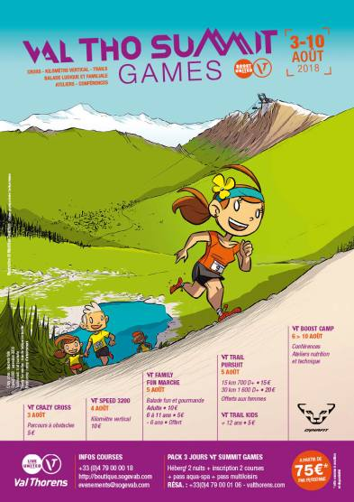 Val Thorens Summit Games 2018
