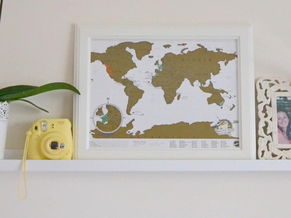 La Scratch Map ou Carte du Monde à Gratter.