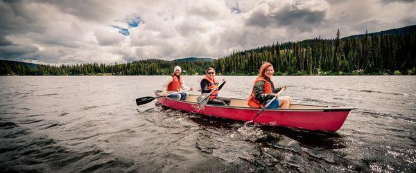 Bouleau canoeing