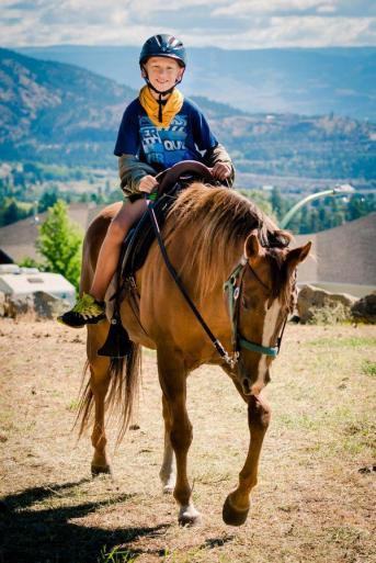 Boys camp western