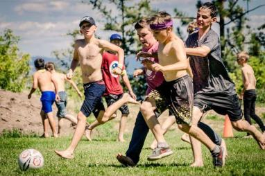 Boys camp wide competition
