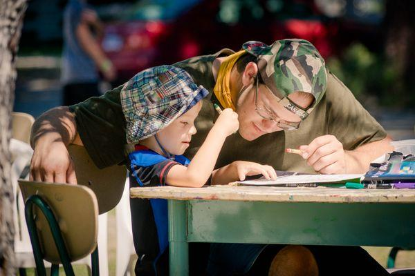 Caleb Rova mentoring