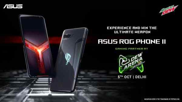 ASUS ROG Phone 2 partners with Dew Arena, as Gaming Partner - Morning Tick