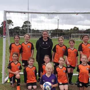 Mini Roos Girls Team