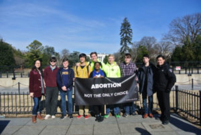 Group Photo at 2019 March for Life