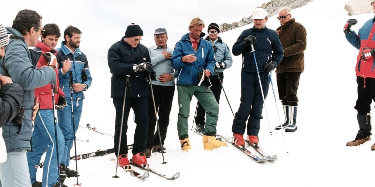 Konrad on Ski Trip