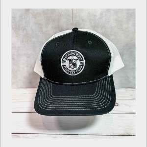 Black and White Truckers Cap