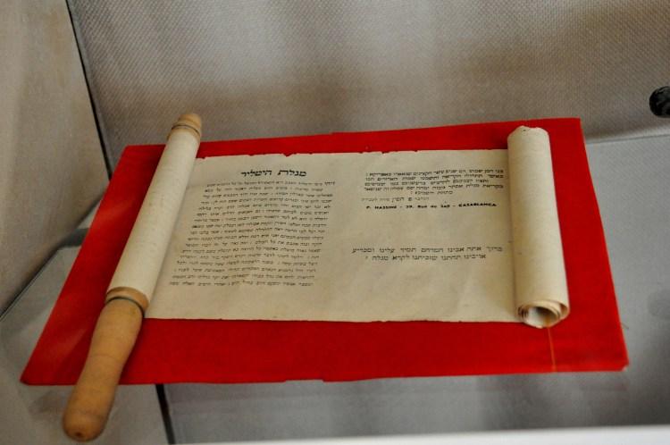 Moroccan Jews celebrate Hitler Purim by reading Megillat Hitler