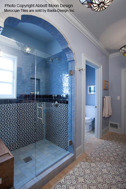 moroccan tiles bathroom moroccan