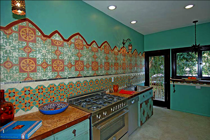 Kitchen Design With Moroccan Tiles By Design Vidal