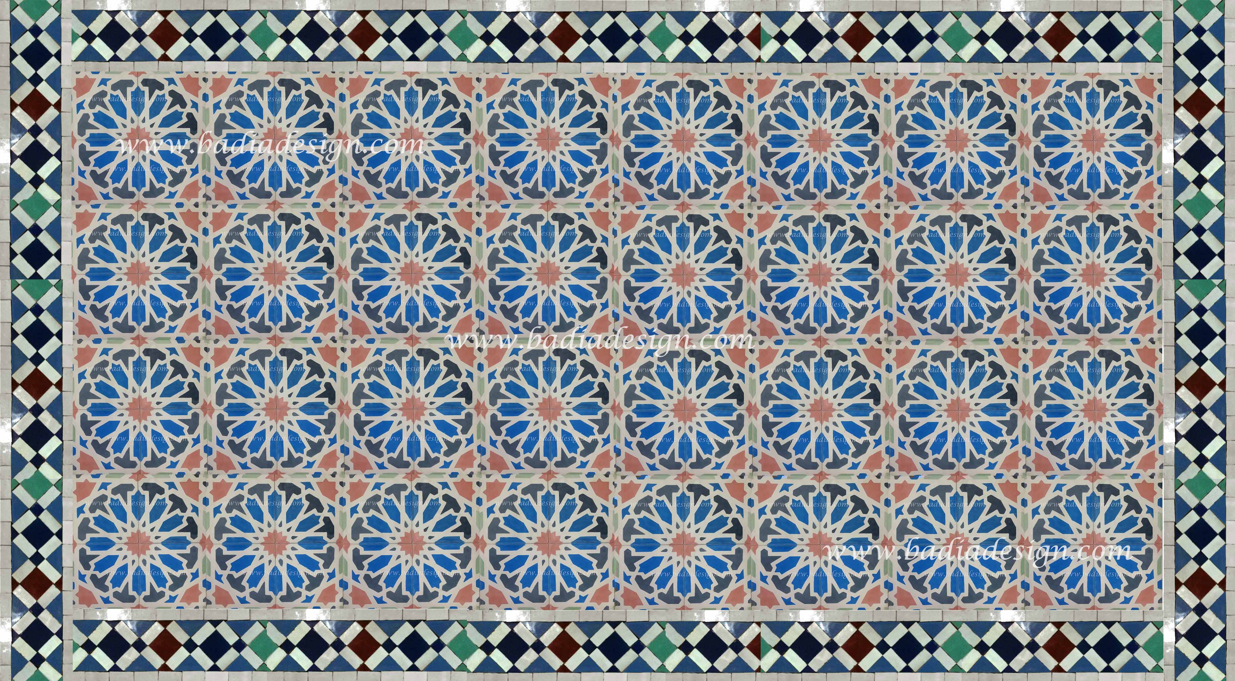 Moroccan Tile Design Examples
