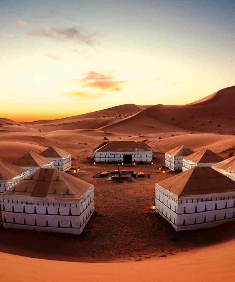 morroco tour desert camp