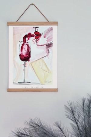 morogmor unik plakatkunst maleri moderne indretning billedv;g
