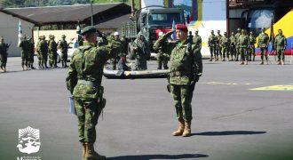 Cambio de mando – Brigada de Selva Nº21 Cóndor
