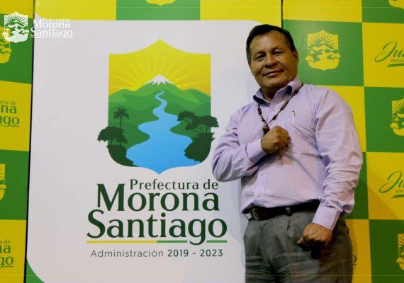Boletín N° 0006-2019. Prefectura de Morona Santiago Presentó Nueva Marca Institucional.