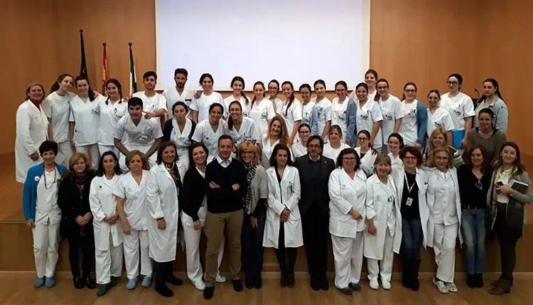 Valme acoge a 31 nuevos alumnos del Grado de Enfermería de la ...