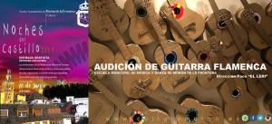 FLAMENCO. Audición alumnado Guitarra Flamenca. 20 de junio. Castillo de Morón @ Castillo de Morón