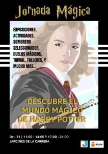 SOCIEDAD. Jornada Mágica, Descubre el mundo mágico de Harry Potter. 31 de octubre. Jardines de La Carrera @ Jardines de La Carrera