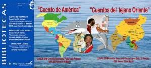 """SOCIEDAD. """"Cuentos del mundo lirondo. Cuentos de América"""", Salva Trasto. BPM Cristóbal Bermúdez Plata. 24 de marzo @ BPM Cristóbal Bermúdez Plata"""