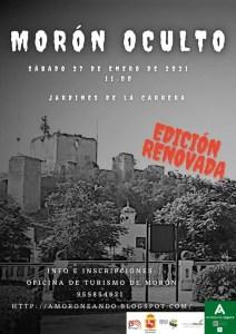 """TURISMO. Ruta """"Morón oculto"""", Asociación Moroneando. 27 de febrero @ Jardines de La Carrera"""