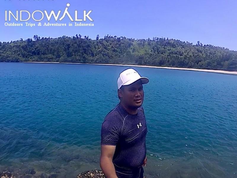 Morotai Perjalanan Travel Gorango Beach Indowalk
