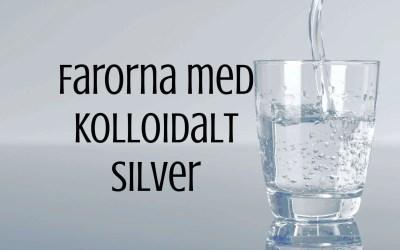 Blåsmurfar i media – farorna med kolloidalt silver