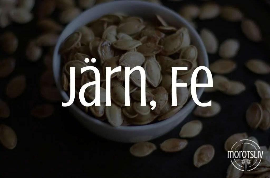 Järn, Fe