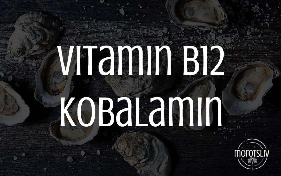 Vitamin B12, kobalamin