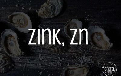 Zink, Zn